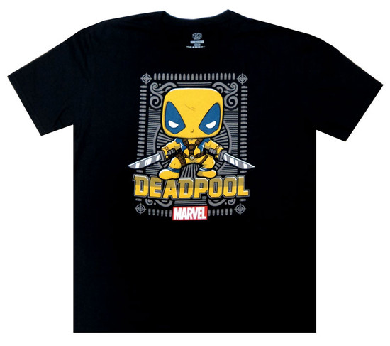 Funko Marvel Collector Corps Deadpool T-Shirt [2X-Large]