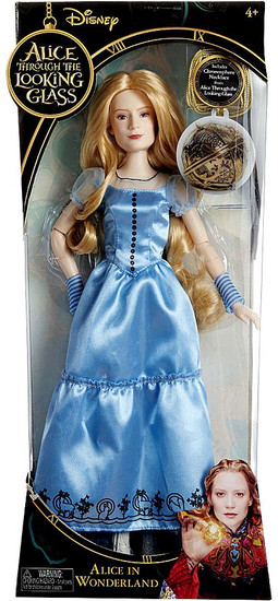 Disney Alice Through the Looking Glass Alice 11-Inch Doll [Lenticular Chronosphere Necklace]