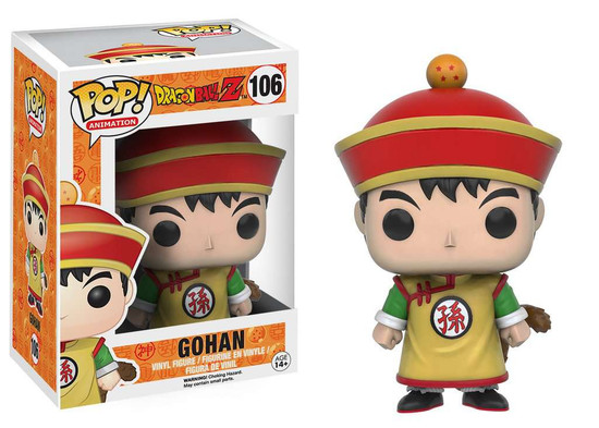 Funko Dragon Ball Z POP! Animation Gohan Vinyl Figure #106