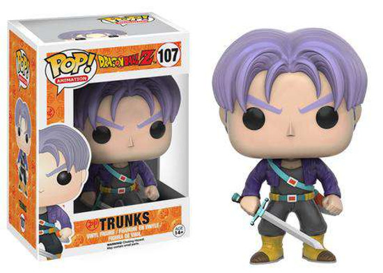 Funko Dragon Ball Z POP! Animation Trunks Vinyl Figure #107