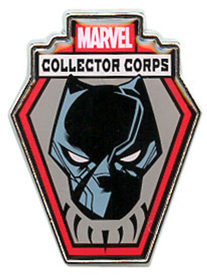 Funko Marvel Collector Corps Black Panther Pin
