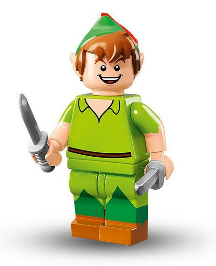 LEGO Minifigures Disney Mystery Series 1 Peter Pan Minifigure [Loose]