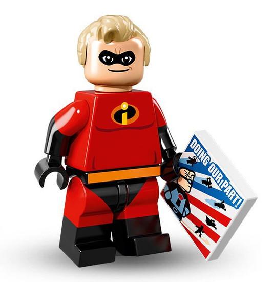 LEGO Minifigures Disney Mystery Series 1 Mr. Incredible Minifigure [Loose]