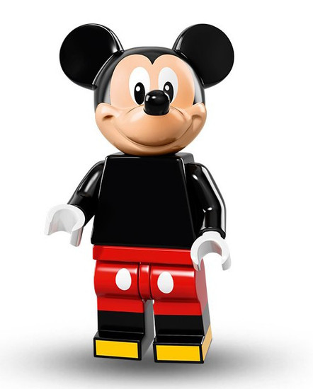 LEGO Minifigures Disney Mystery Series 1 Mickey Mouse Minifigure [Loose]