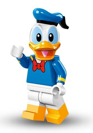 LEGO Minifigures Disney Mystery Series 1 Donald Duck Minifigure [Loose]