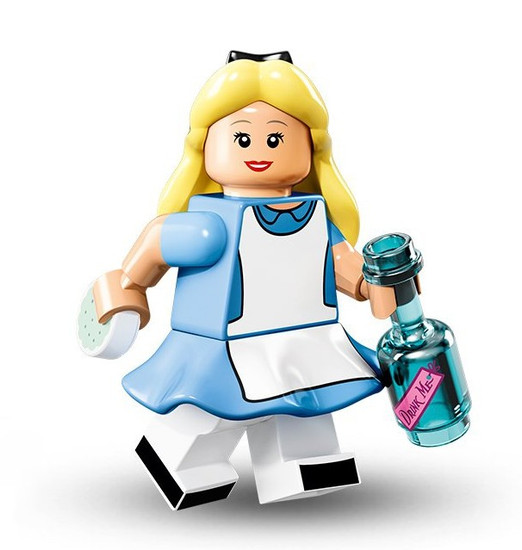LEGO Minifigures Disney Mystery Series 1 Alice Minifigure [Loose]