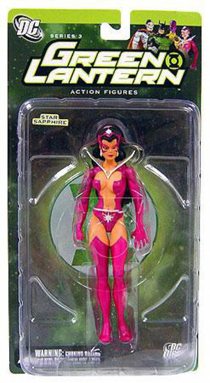 DC Green Lantern Series 3 Star Sapphire Action Figure [Damaged Package Mint Contents]