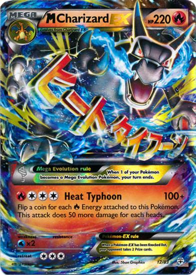 Pokemon X & Y Generations Ultra Rare M Charizard EX #12