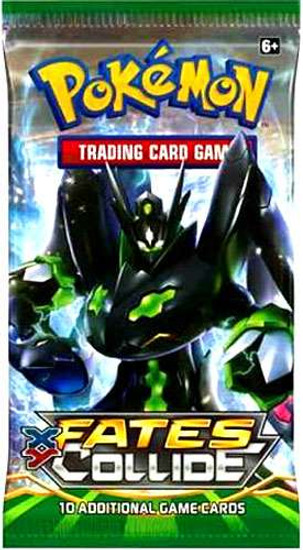 Pokemon Trading Card Game XY Fates Collide Booster Pack [10 Cards]