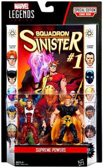 Marvel Legends Hyperion (Squadron Supreme & Sinister) Action Figure 2-Pack [Supreme Powers]