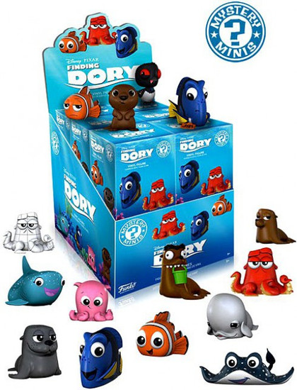 Funko Disney Mystery Minis Finding Dory Mystery Box [12 Packs]