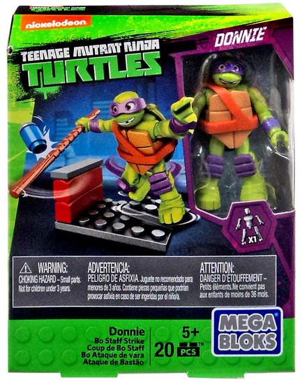Mega Bloks Teenage Mutant Ninja Turtles Animation Donnie Set #33662 [Bo Staff Strike]