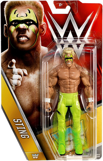WWE Wrestling Series 62 Sting Action Figure