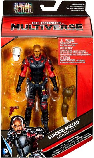 DC Suicide Squad Multiverse Croc Series Deadshot Action Figure [Will Smith]
