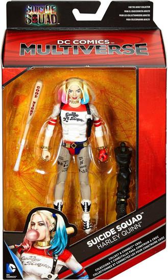 DC Suicide Squad Multiverse Croc Series Harley Quinn Action Figure [Baseball Bat]