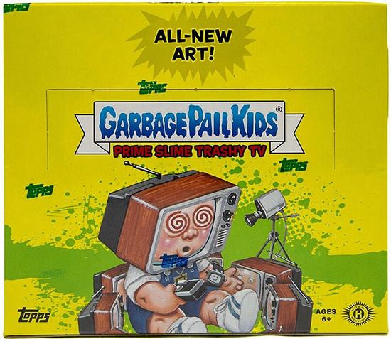 Garbage Pail Kids Topps 2016 Prime Slime Trashy TV Trading Sticker Card HOBBY Box