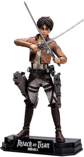 McFarlane Toys Attack on Titan Color Tops Blue Wave Eren Jaeger Action Figure #15