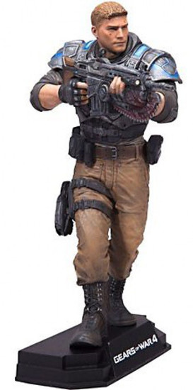 McFarlane Toys Gears of War 4 Color Tops Blue Wave JD Fenix Action Figure #11