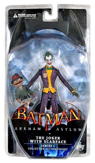 Batman Arkham Asylum Series 1 Joker with Scarface Action Figure