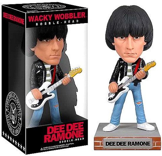 Funko The Ramones Wacky Wobbler Dee Dee Ramone Bobble Head
