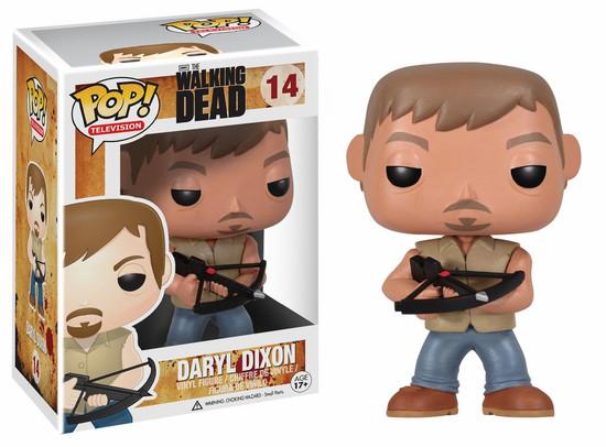 Funko The Walking Dead POP! TV Daryl Dixon Vinyl Figure #14 [Damaged Package]