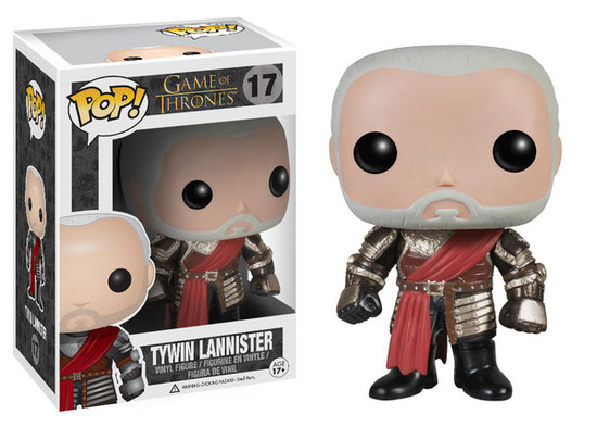 Funko Game of Thrones POP! TV Tywin Lannister Vinyl Figure #17 [Silver Armor]