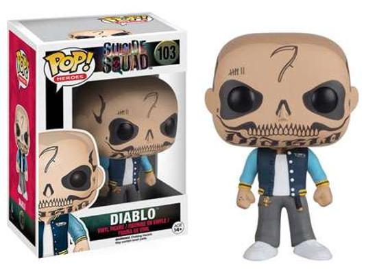 Funko Suicide Squad POP! Movies El Diablo Vinyl Figure #103