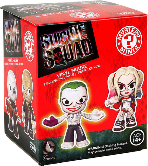 Funko DC Mystery Minis Suicide Squad Mystery Pack [1 RANDOM Figure]