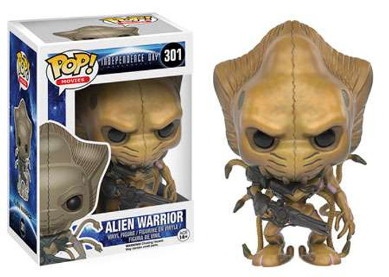 Funko Independence Day: Resurgence POP! Movies Alien Warrior Vinyl Figure #301 [Resurgence]