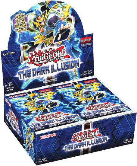 YuGiOh Trading Card Game The Dark Illusion Booster Box [24 Packs]