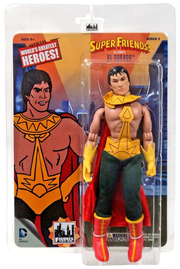 DC World's Greatest Heroes! Super Friends! Series 2 El Dorado Retro Action Figure
