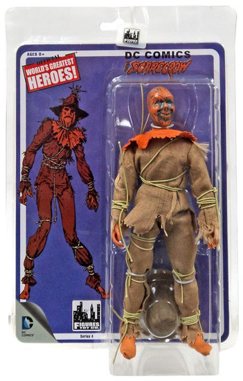 Batman 1966 TV Series Classic TV Series 4 The Scarecrow Retro Action Figure