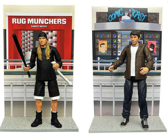 Mallrats Select Series 1 Set of 2 Action Figure [Jay & Broddie]