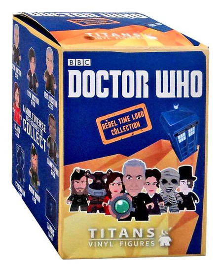 Doctor Who Rebel Time Lord Collection Mystery Pack