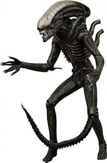 NECA Deluxe Series 1 Alien Action Figure [Damaged Package]