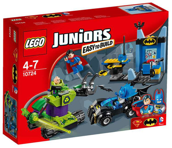 LEGO DC Juniors Batman & Superman vs. Lex Luthor Set #10724