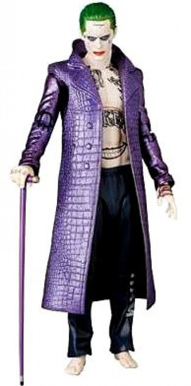 DC Suicide Squad MAFEX The Joker (Purple Coat) Action Figure [Suicide Squad]