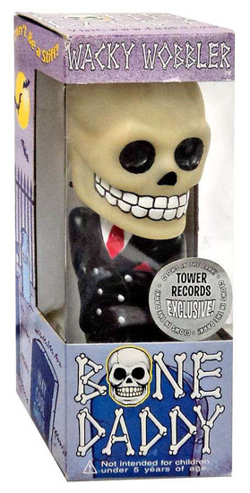 Funko Wacky Wobbler Bone Daddy Exclusive Bobble Head [Glow-in-the-Dark]
