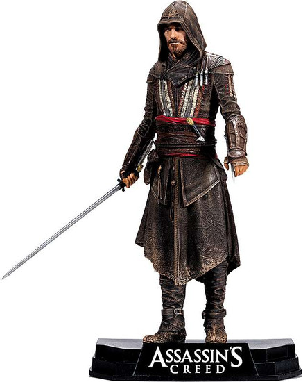 McFarlane Toys Assassin's Creed Movie Color Tops Blue Wave Aguilar Action Figure #12