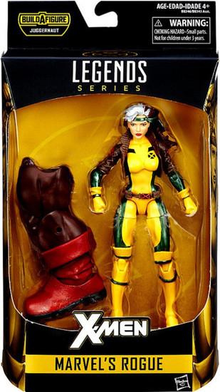 X-Men Marvel Legends Juggernaut Series Marvel's Rogue Action Figure [Jim Lee Version]