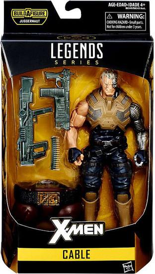 X-Men Marvel Legends Juggernaut Series Cable Action Figure