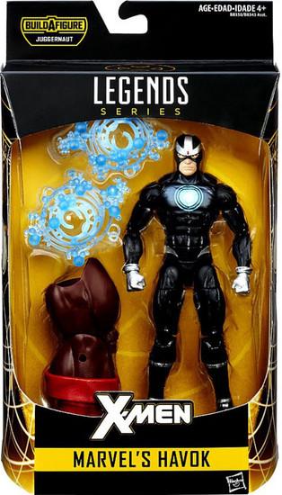 X-Men Marvel Legends Juggernaut Series Marvel's Havok Action Figure