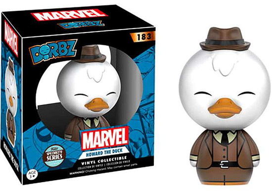 Funko Marvel Guardians of the Galaxy Dorbz Howard the Duck Exclusive Vinyl Figure #183 [Specialty Series]