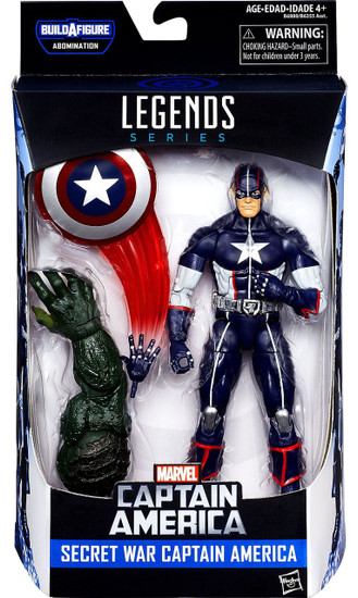 Captain America Civil War Marvel Legends Abomination Series Secret War Captain America Action Figure