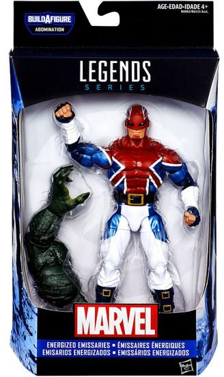 Captain America Civil War Marvel Legends Abomination Series Captain Britain Action Figure [Energized Emissaries]