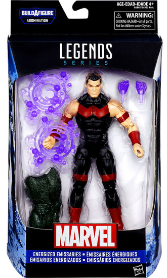 Captain America Civil War Marvel Legends Abomination Series Wonder Man Action Figure [Energized Emissaries]
