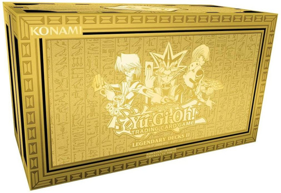 YuGiOh Trading Card Game Legendary Decks II Structure Deck Set