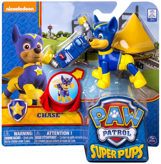 Paw Patrol Super Pup Chase Exclusive Figure