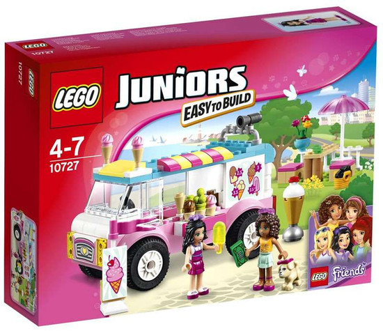 LEGO Juniors Friends Emma's Ice Cream Truck Set #10727