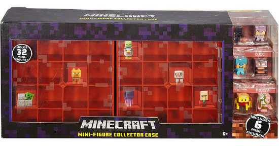 Minecraft Series 3 Netherrack Mini Figure Collector Case